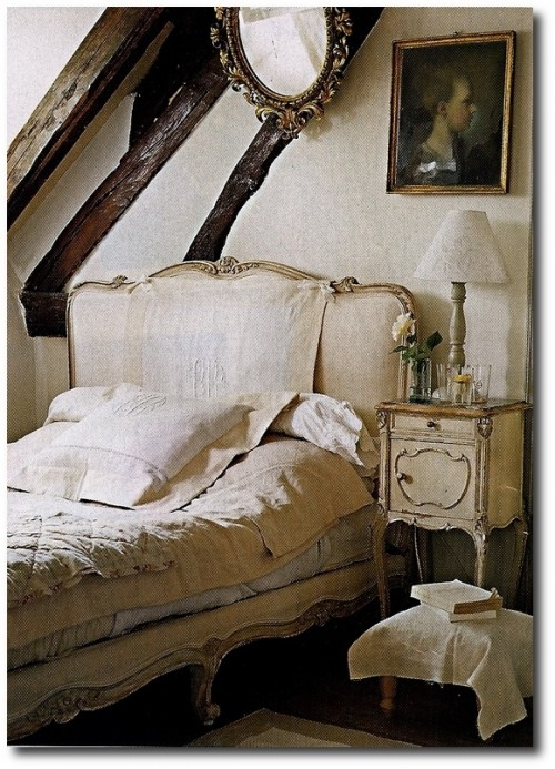 French Bed- Provincial Decorating ideas