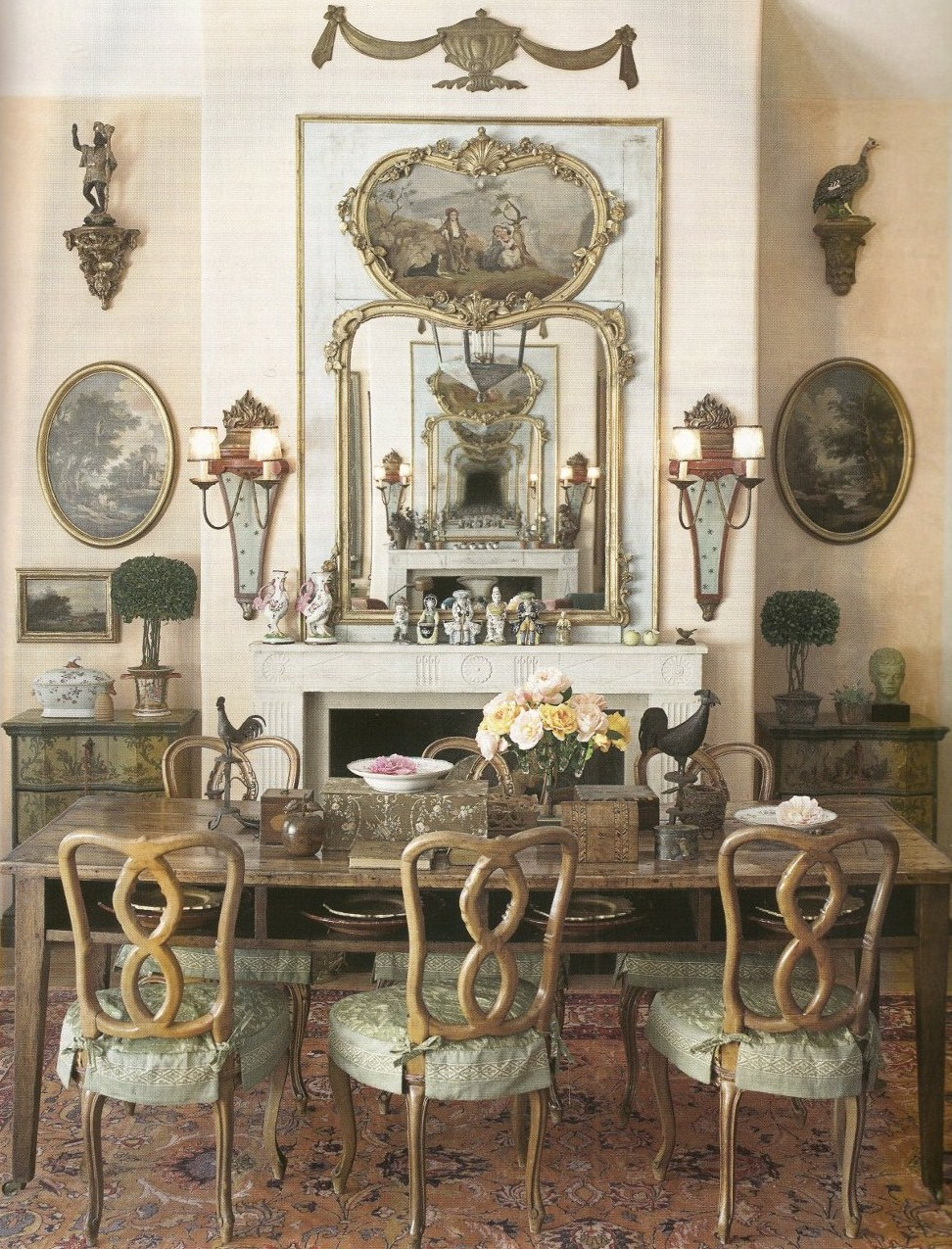 French provincial furniture decorating ideas designer penelope bianchi seen in home beautiful - Decoration furniture ...