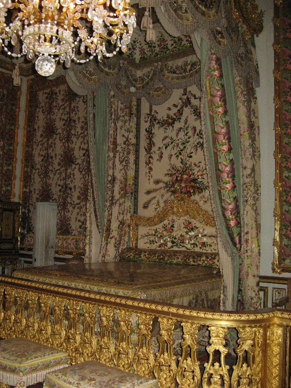 Marie Antoinette S Bedroom Bed