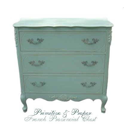 Primitive & Proper's Perfect French Provincial Painted Furniture