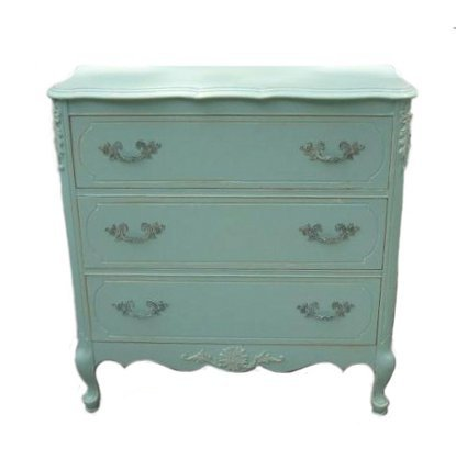 Primitive and Proper Painted French Chest