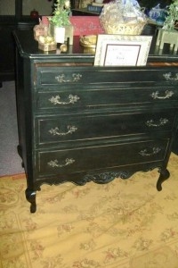 Antique French Provincial Chest On Chest Found On Craigslist