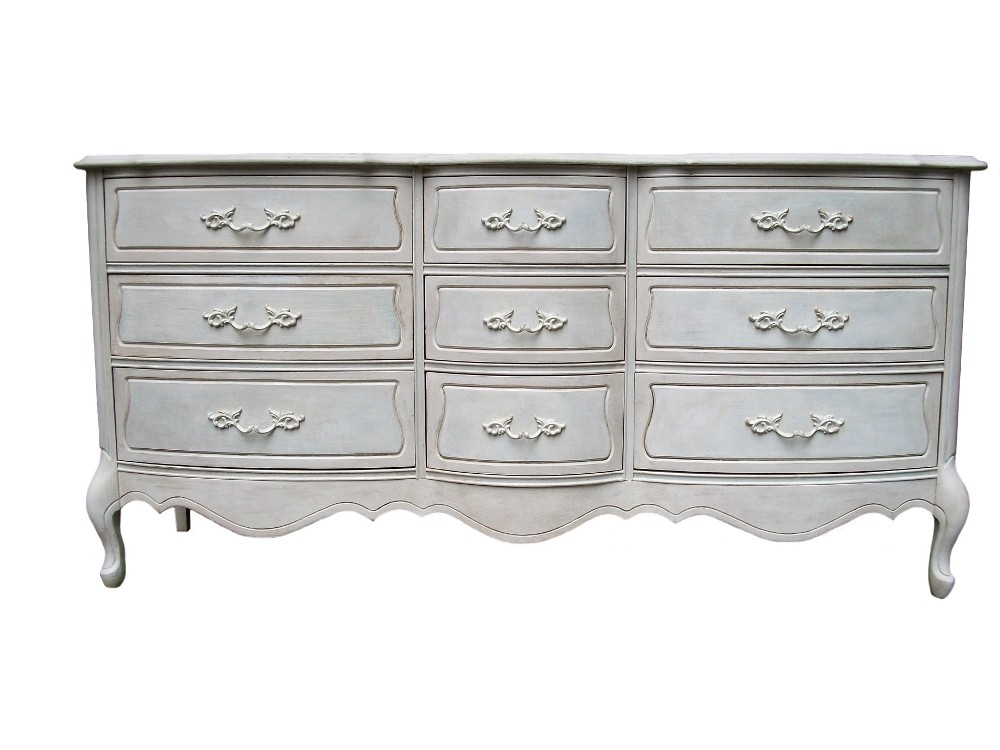 My French Provincial Louis Dresser Makeover