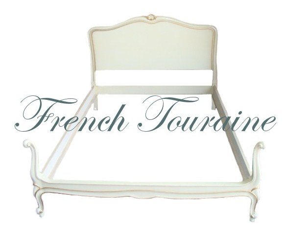 Drexel Touraine French Provincial Carved Shell Bed