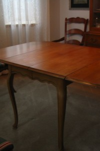 French Refractory Leaf Table