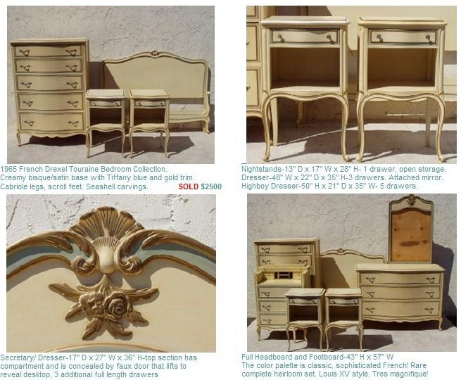 Chatelet French Provincial 5 Piece Cal King Bedroom Set