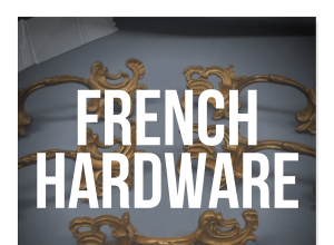 French Provincial Furniture Hardware
