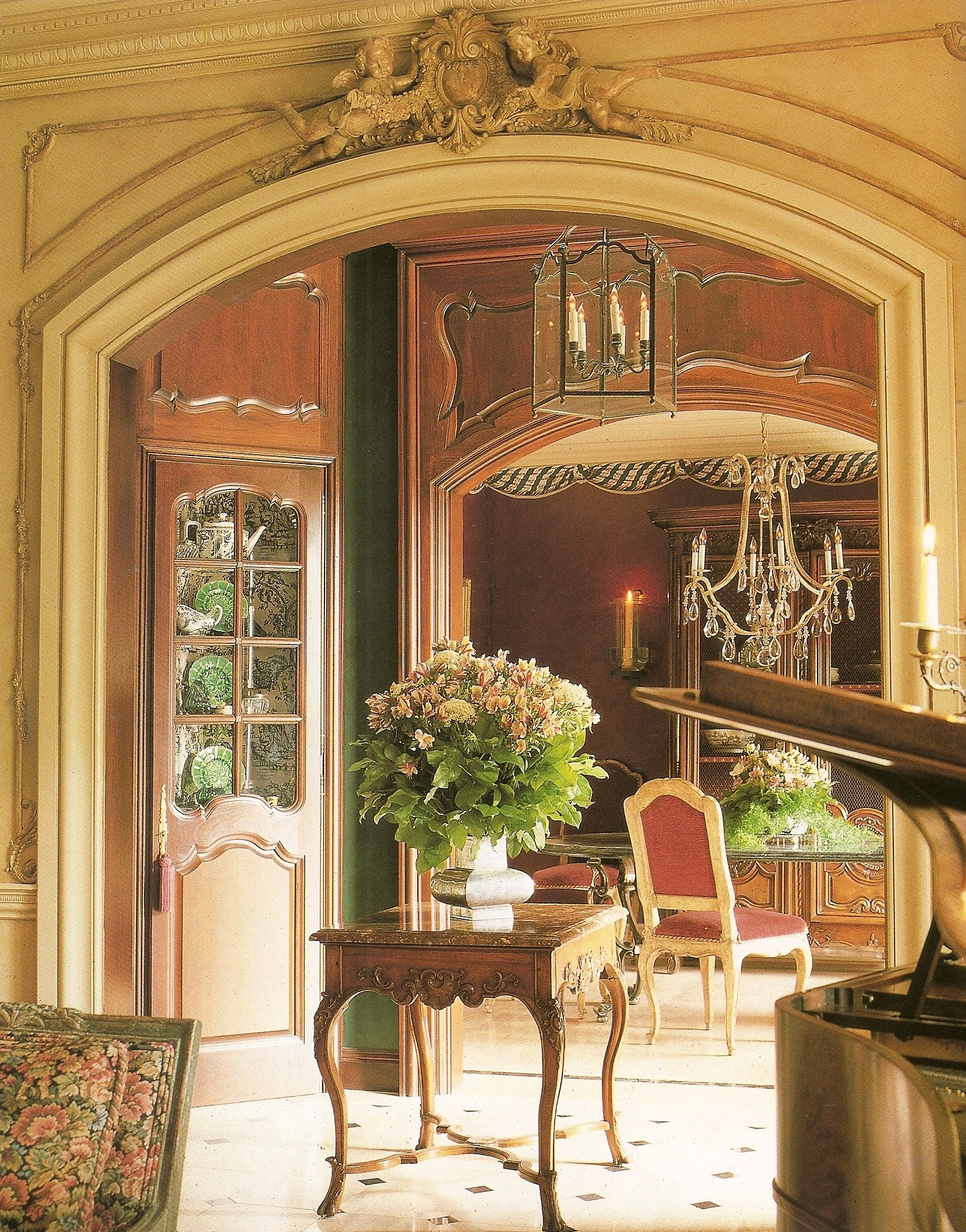 french interior from provencial interiors