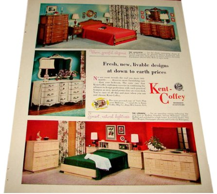 French Provincial Furniture KENTCOFFEY Bedroom FURNITURE - Kent coffey bedroom furniture