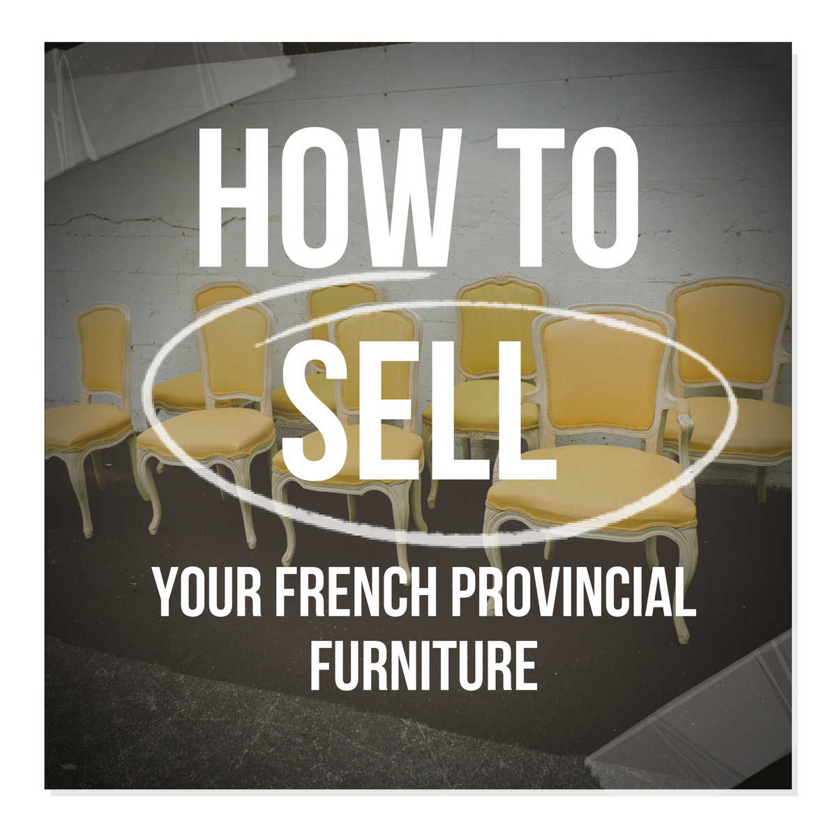How To Sell Your French Provincial Furniture On Craigslist