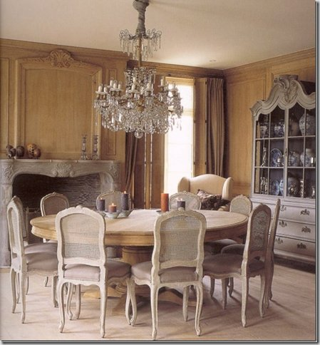 French Provincial Dining Chairs