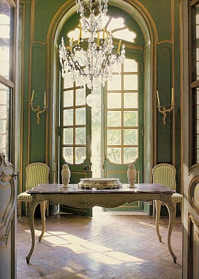 Ted and Lillian Williams chateau in Normandy France French Provincial Furniture Swedish Furniture Painting: Furniture & Wall Stencils