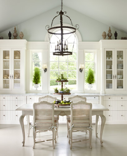 French Style White Decorating From The Enchanted Home Blog