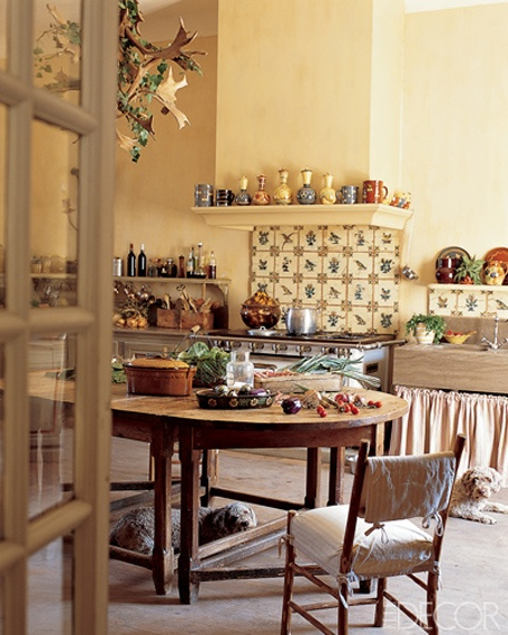 17th Century French Country Decorating Elledecor
