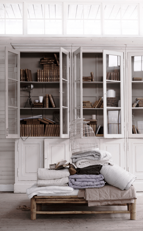 All White Decoating Ideas Using French Furniture Raw Limed Wood From Tine K  Home Spring Summer 2012