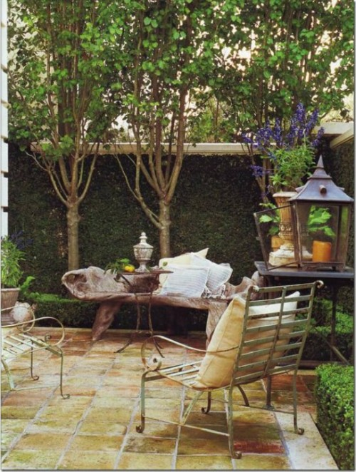French Provence Style Decorating Using Iron From Tumblr