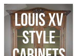 French Louis XV Style Cabinets