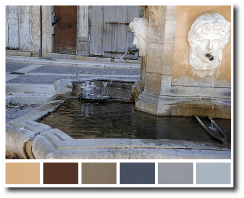 Provence Decorating Colors