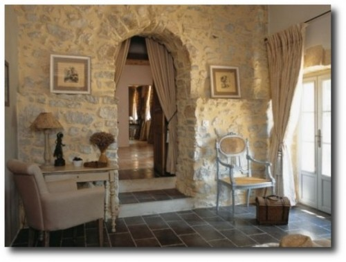 Stone Decorating French Provence Style