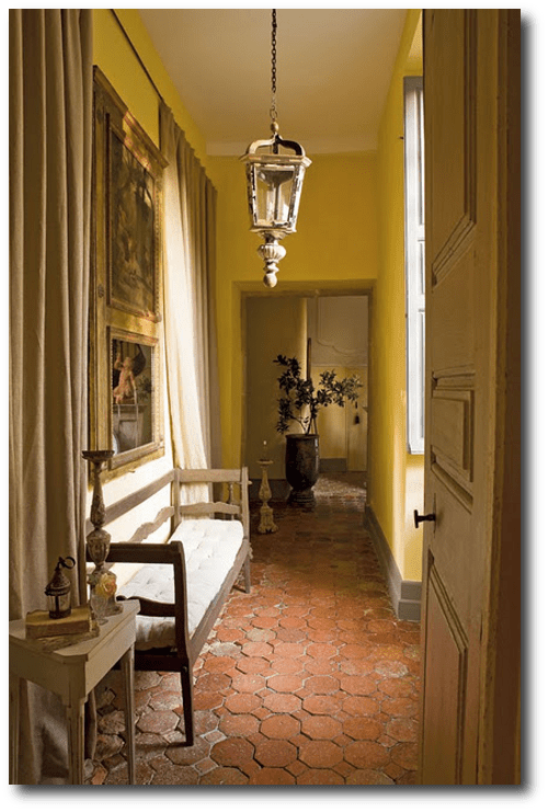Rustic Provence Decorating Ideas- Mr Aurélien Deleuze and his wife, Pascale Own This Captivating Chateau in France