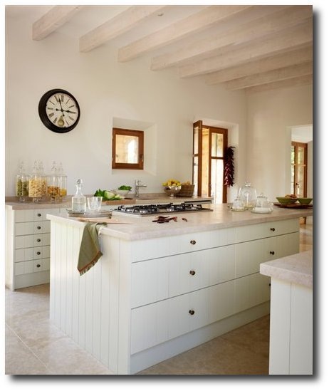 Decorating With Stone For An Old World French Provence Look
