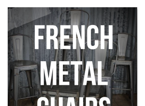 Tolix Chairs: The French Metal Chair Everyone Wants This Year!