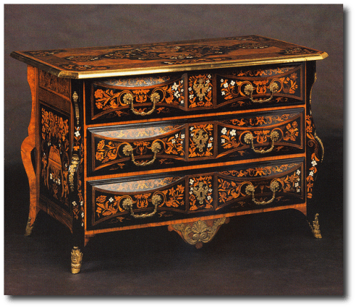 Jean Francois Hache 500x432 Exclusive French Cabinetmakers Of The 18th Century