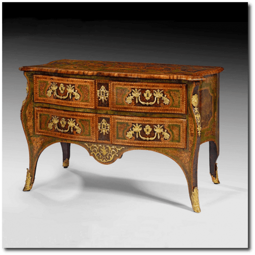 Pierre Hache Commode Louis XV Style 500x500 Exclusive French Cabinetmakers Of The 18th Century
