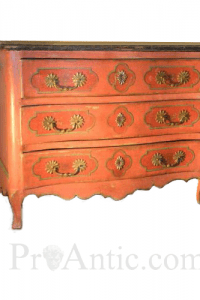 Louis XV Commode Painted Wood. Convenient to Louis XV- Proantic Antiques