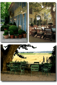 French Provence Decorating- Using Clay Pots