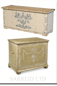 22285 Blanket Chest AND 26610   The Apothecary Chest