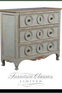 Furniture Classics Three Ring Chest Item #2958DU