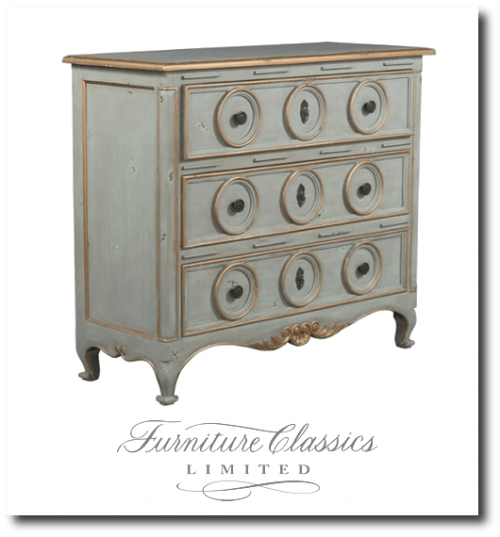 Furniture Classics Three Ring Chest Item #2958DU