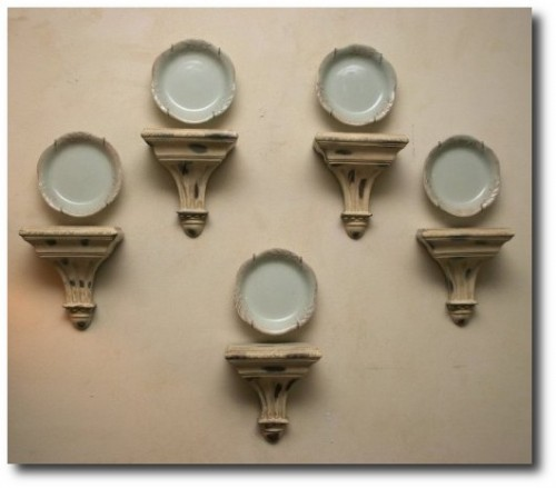 Wall Shelf Sconces- Provincial Style