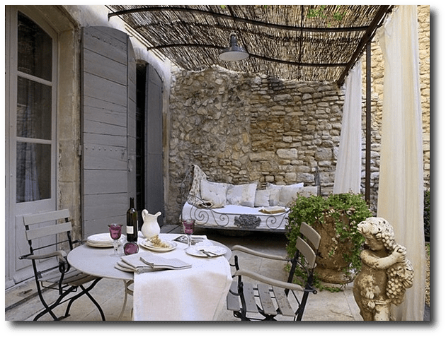 French Patio Ideas