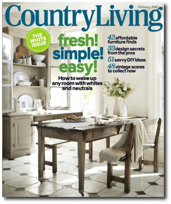 French farmhouse tables for the country home Home furniture design magazine