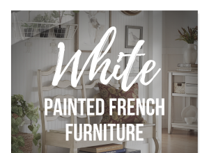 White Painted French Furniture