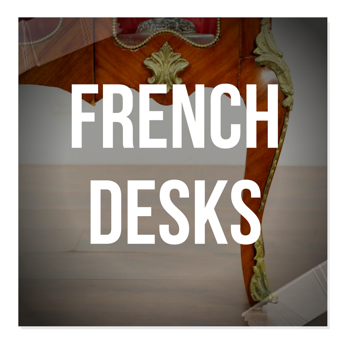 Breathtaking French Provincial Office Furniture