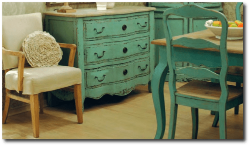 Etienne French Painted Furniture