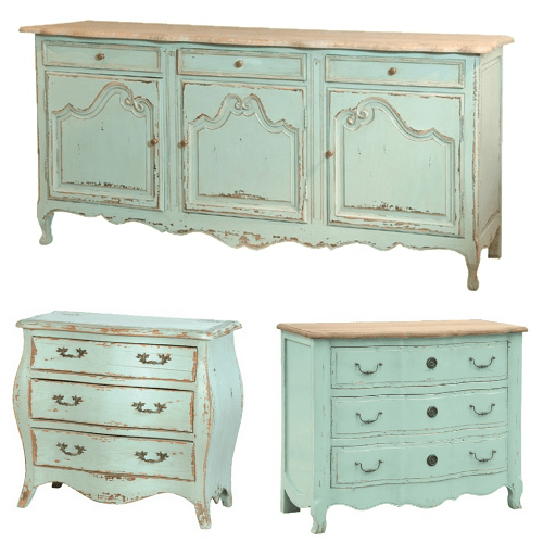 5 paint color choices for provincial furniture for French country furniture