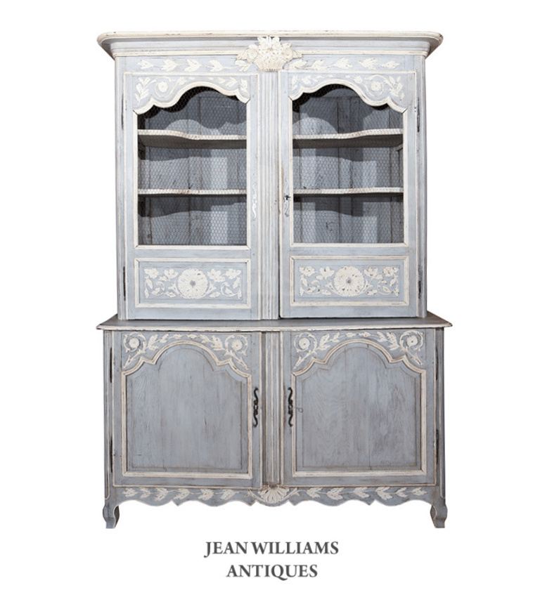 french painted buffet deux corps jean williams antiques