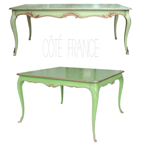 Green Painted Table Top 5 Bold Colors to Paint Your Wooden Furniture