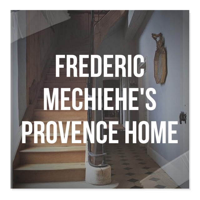 Frederic Mechiehe's Provence Home In Hyeres