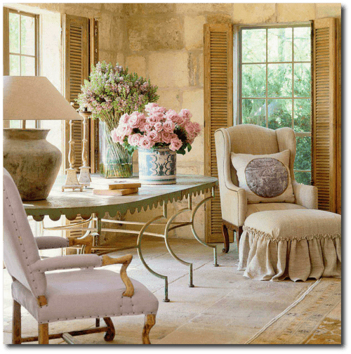 3 ways to borrow pam pierce 39 s slipcover looks for your provence home. Black Bedroom Furniture Sets. Home Design Ideas