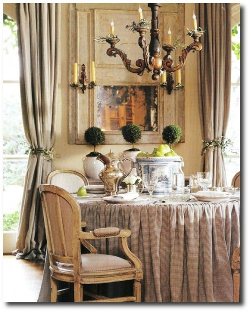 provence dining room | 3 Ways To Borrow Pam Pierce's Slipcover Looks For Your ...