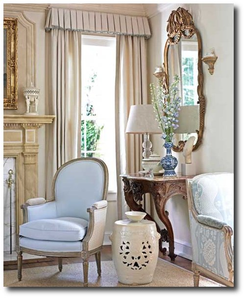 dan carithers french style decorating carither 39 s home featured in southern accents. Black Bedroom Furniture Sets. Home Design Ideas