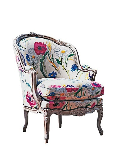 W Magazine French Chair - ROCHE BOBOIS chair, from $4,174, roche-bobois.com