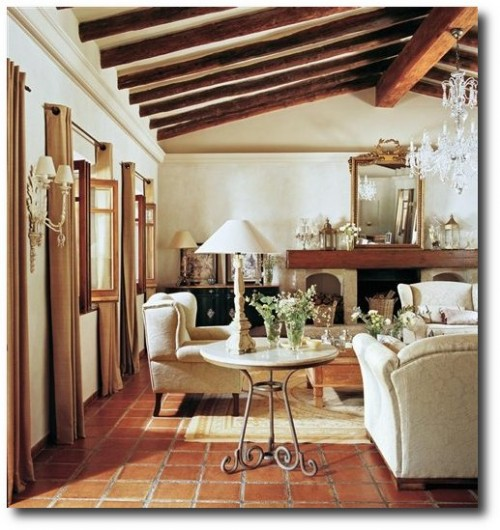 17th Century Farmhouse With French Furniture