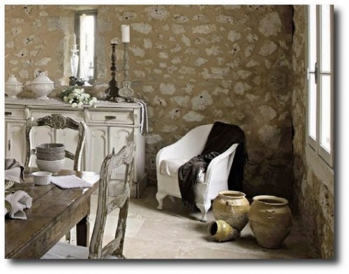 Get the provence look by installing stone floors - Abonnement art et decoration ...
