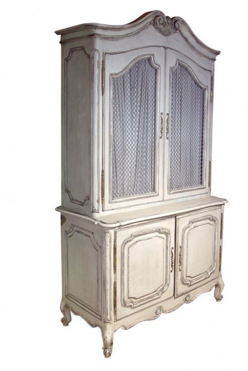 French Painted Cabinet attri. to Jansen Greenwich Living